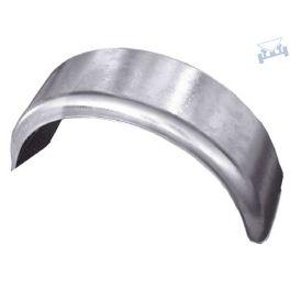 Spatscherm staal rond/rond 14 inch